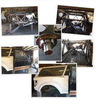 89 Ford Bronco with Center A arms