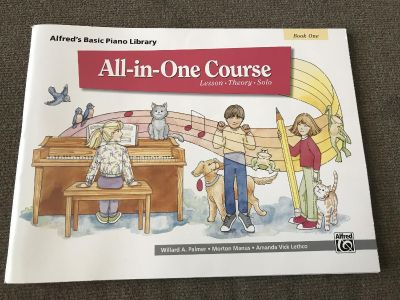 New Piano learning book