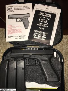 For Sale: Glock 37 / 45 + 3 MAGS + Case || Police Trade In