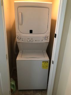 General Electric Space Saver/Stackable Washer Dryer