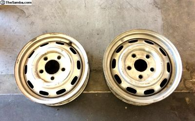 Steel Wheels for Porsche 356 or 911 - Two Avai