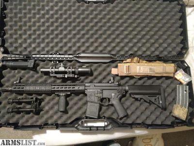For Sale: Knights Armament SR-15 Mod 2