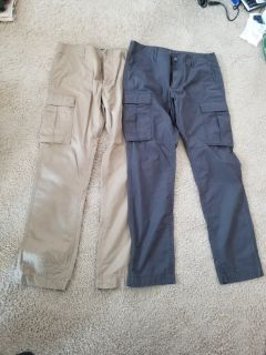 old navy slim fit cargo pants, obo