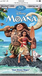 Looking for........Moana Blu-ray DVD