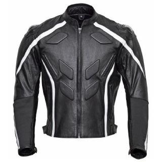 Excalibur Men's Race Leather Motorcycle Jacket
