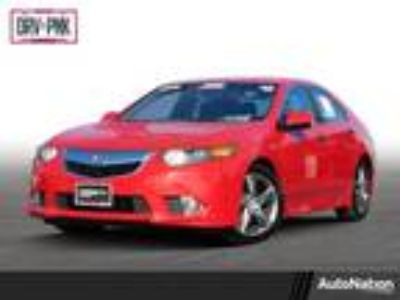 Used 2012 Acura TSX Milano Red, 91K miles
