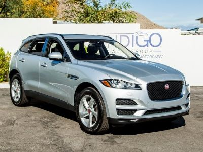 2018 Jaguar F-Pace 20d Premium (Indus Silver Metallic)