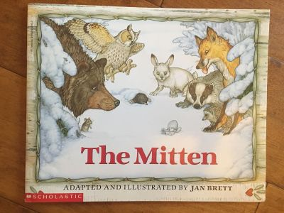 The Mitten Large Paperback Like New!