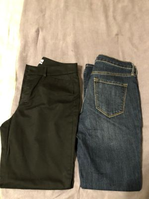 Ladies pants/jeans size 6-sell together