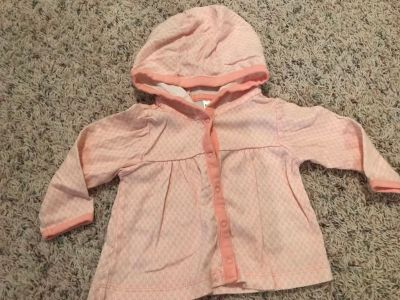 Carter s 6 months hooded jacket