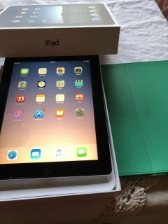 Apple IPad 2,speck cover, box , and charger