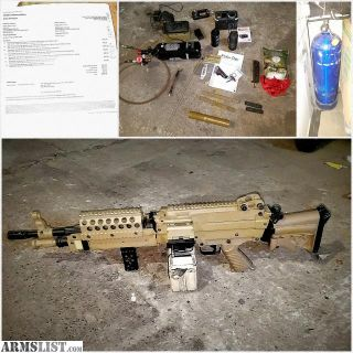 For Sale: POLERSTAR M249 SQUAD AUTOMATIC WEAPON UNDERGROUND MILSIM SETUP