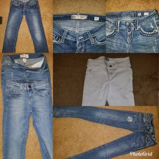 Abercrombie, BKE, Miss Me Jeans - Size 0 and 1