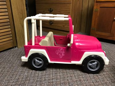 Our Generation Jeep. Used for American Girl/18 Dolls.