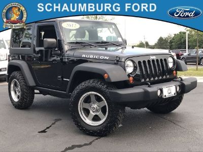 2012 Jeep Wrangler Rubicon (Black Clearcoat)