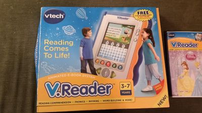 New Vtech animated e-book system and game