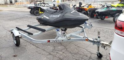 Dual Trailer Sea-Doo MOVE - galvanized - titled (jetski not included)