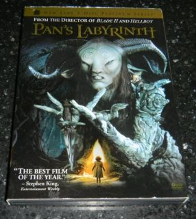 Pan's Labyrinth 2 Disc Platinum Series DVD With Slip Cover
