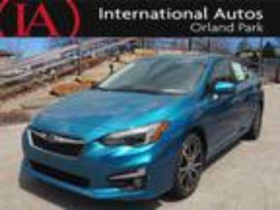 2017 Subaru Impreza Blue, new