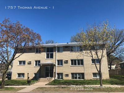 Beautiful 1 Bedroom St. Paul Apartment - Water and Heat Paid!