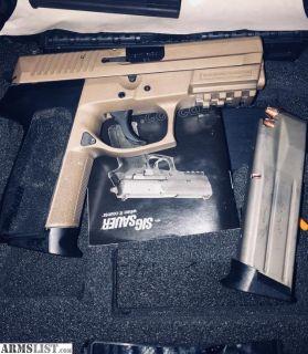 For Sale: Sig Sauer SP2022 9mm
