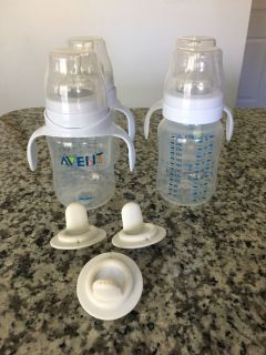 Avent Trainer/Sippy bottles