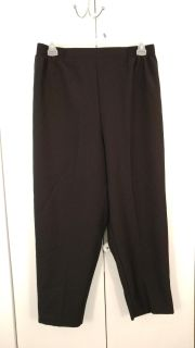 """""""Just for women"""" black pants. Size 20. Smoke free home. Can meet in Reidsville or Eden area. Message for more details."""