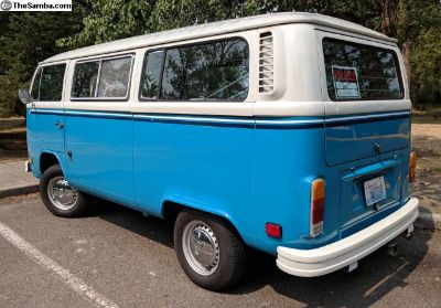 1977 VW TRANSPORTER WITH Z-BED