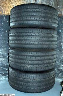 For Sale: Set of 4 - 255/40/19 Pirelli P Zero Maximum Performance tires