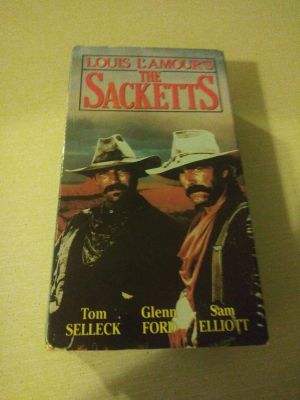 Louis L'Amour the sacketts VHS movie good condition