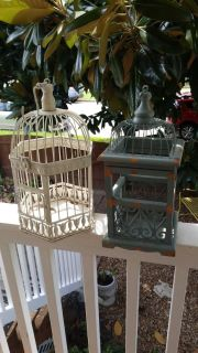 Set of bird cages