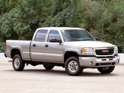 2003 GMC Sierra 3500 Base (Summit White)