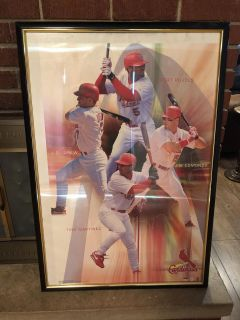 Large framed cardinals picture