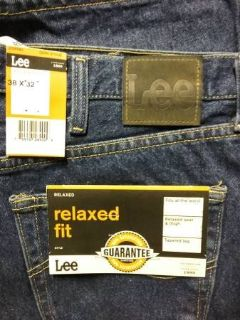 Men's Lee Relaxed Fit Blue Jeans-Brand new