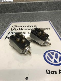 NOS Zwitter and early oval headlight switches