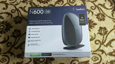 Unopened New Belkin N600 Wi-Fi Dual Band N + Router