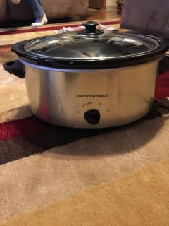 Slow cooker Hamilton beach