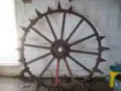 John Deere Steel Tractor Wheel w Old iron lugs (Plymouth IN