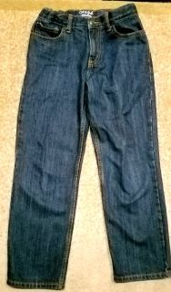 Boys Sz 10 Relaxed Straight Jeans