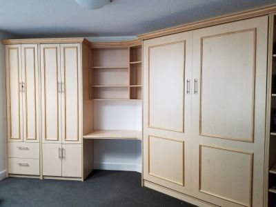 Built in unit with Murphy bed