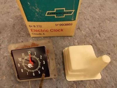 Sell NOS 1970 CHEVELLE CLOCK motorcycle in Blairsville, Georgia, United States