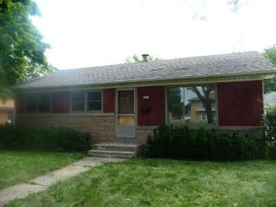 3 Bed 1 Bath Foreclosure Property in Milwaukee, WI 53227 - S 84th St