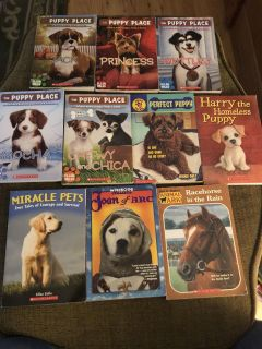 Lot of 10 books - used - some have writing inside of of cover - some like new - porch pick up