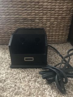 Euc Pottery barn wood organizer, you can charge up to 3 electronics. $5.00 PU near Fisher Park.