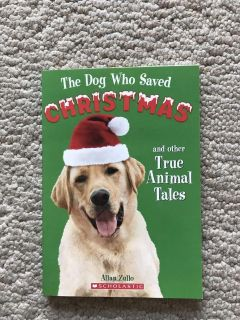 The Dog who saved Christmas chapter book. Excellent condition! $1.50