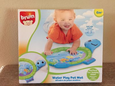 Bruin WATER PLAY PAT MAT 6M + just add water, perfect for tummy time