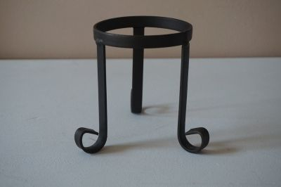Wrought Iron Pot/Candle Holder