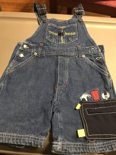 Tool shop bibbed overalls size 4T