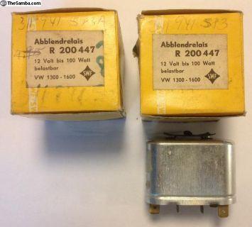 NOS T3 Headlight Dimmer Relay 1967-70