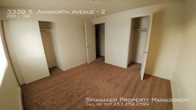 Wonderful 2 bedroom Apartment close to Freeways and Downtown! A must see!!